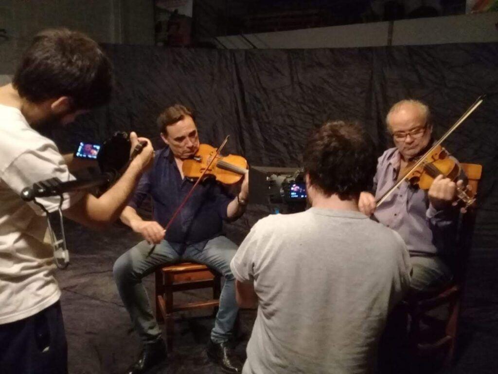 Paulino Pérez violinista Merlo