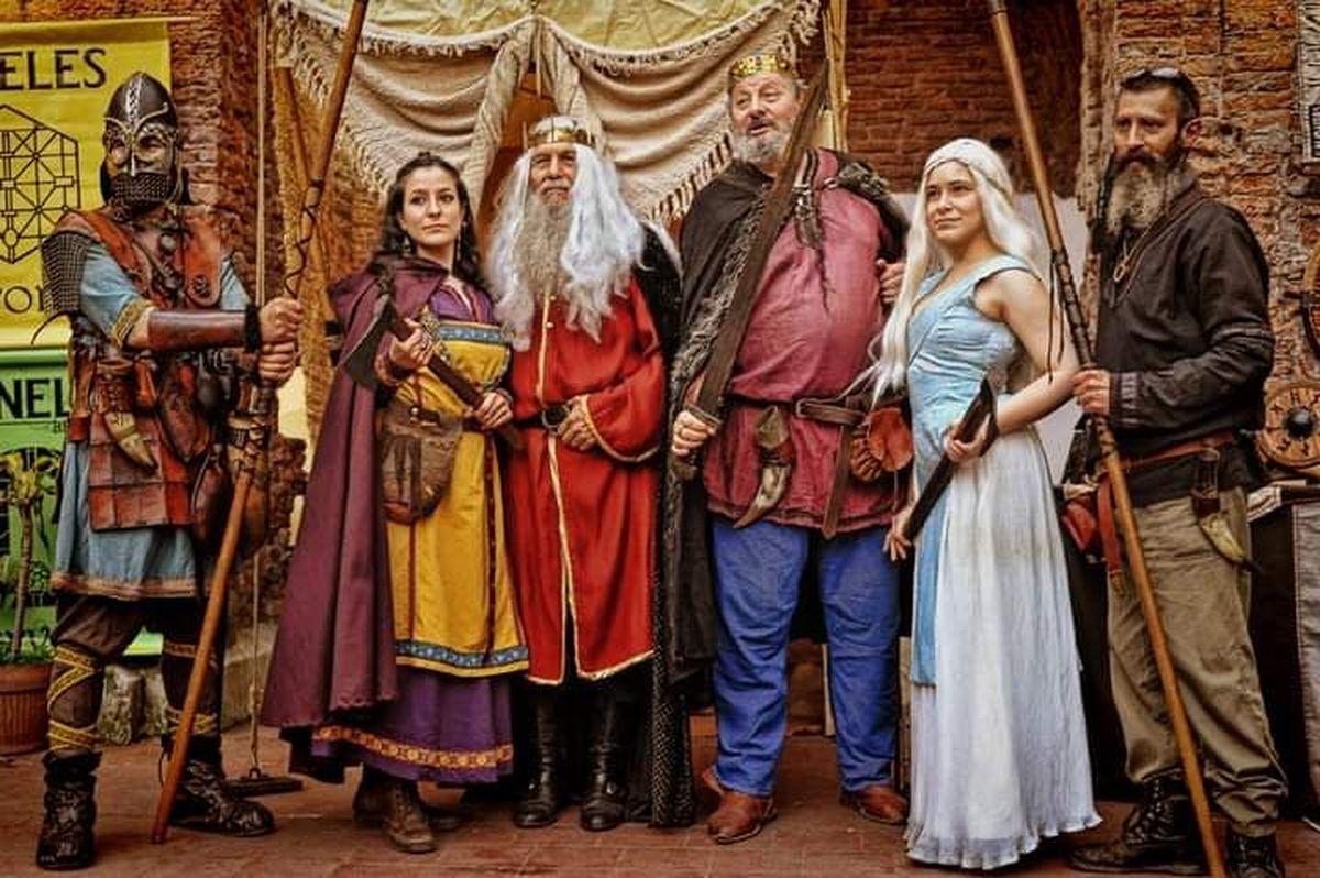 Merlo: llegada del festival medieval