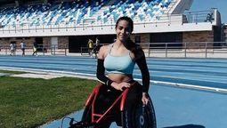 altText(La deportista de Moreno, Lucía Montenegro, reclamó que el Comité Paralímpico no la dejó participar en un torneo en Suiza)}