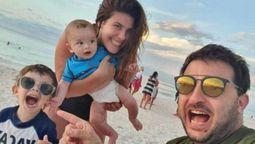 altText(Diego Brancatelli se reencontró con su familia luego de estar internado por coronavirus)}