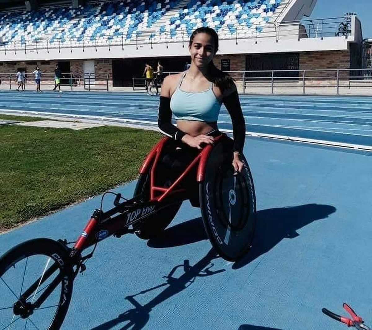 La deportista de Moreno, Lucía Montenegro, reclamó que el Comité Paralímpico no la dejó participar en un torneo en Suiza