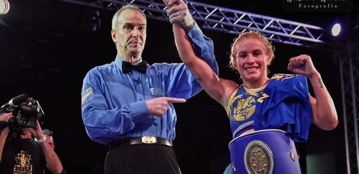Celeste Alaniz: la joven boxeadora de Merlo que busca ser la primera campeona mundial de la ciudad