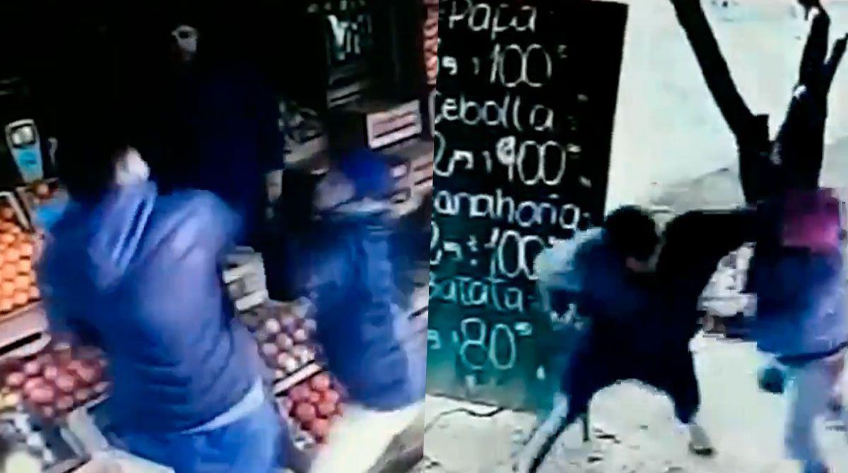 El repudiable hecho ocurrió en el barrio Parque San Martín