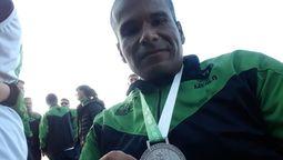 "altText(""El deporte me permitió independizarme físicamente a pesar de mi discapacidad"": conoce la historia de Cristian Díaz)}"