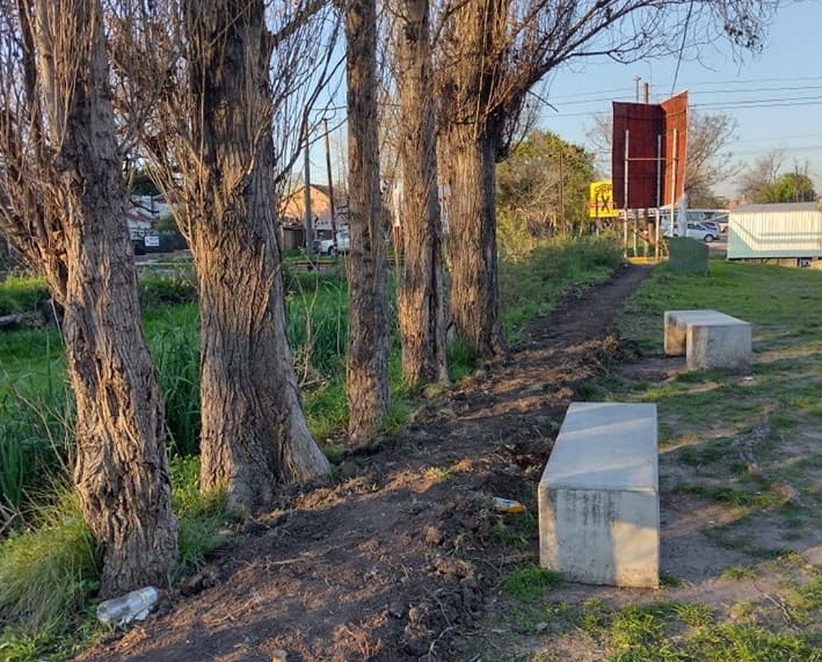 El Palomar: preocupación de los vecinos ante una obra