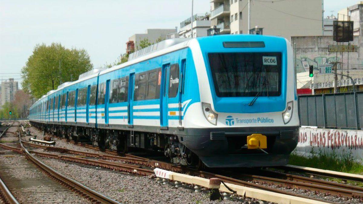 El Tren Sarmiento funciona con demoras