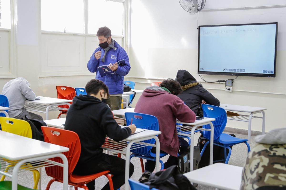 Escuelas: habrá una sola burbuja en cada aula de la ciudad
