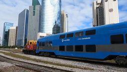 altText(Tren Sarmiento: El regreso de los vagones doble piso )}