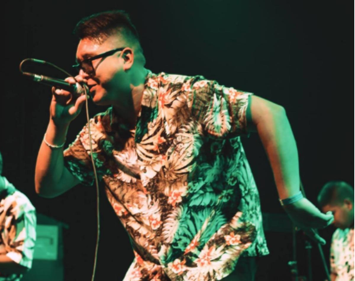 La experiencia de un show de rap virtual en Ituzaingó