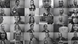 altText(El Sanatorio Modelo de Caseros presenta un fotodocumental sobre el primer año de la pandemia)}