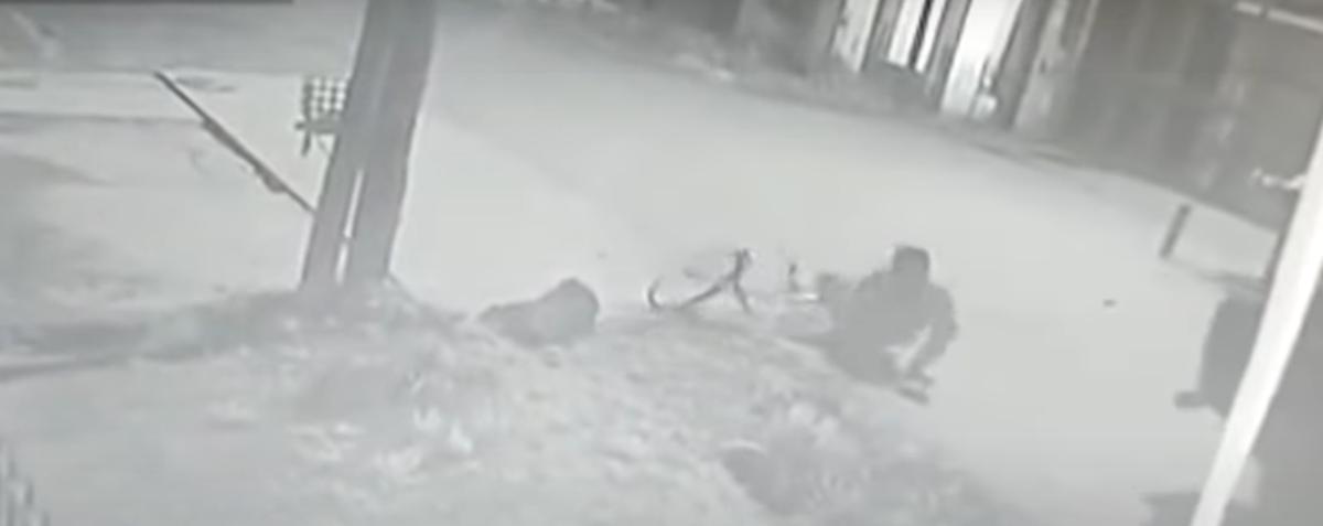 Moreno: falleció el ladrón tras ser golpeado por el delivery