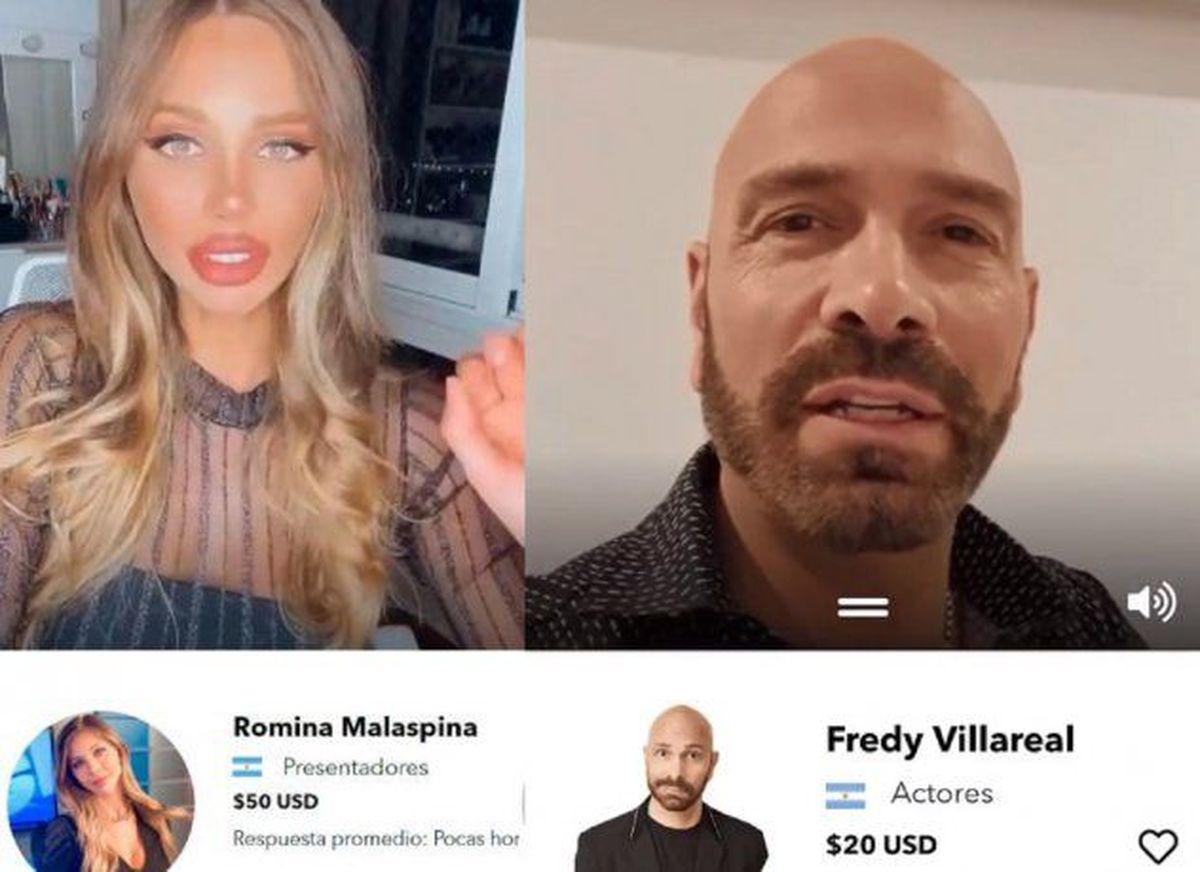 """Polémica: A través de una aplicación, famosos """"venden"""" saludos que cuestan entre 5 y 150 dólares"""