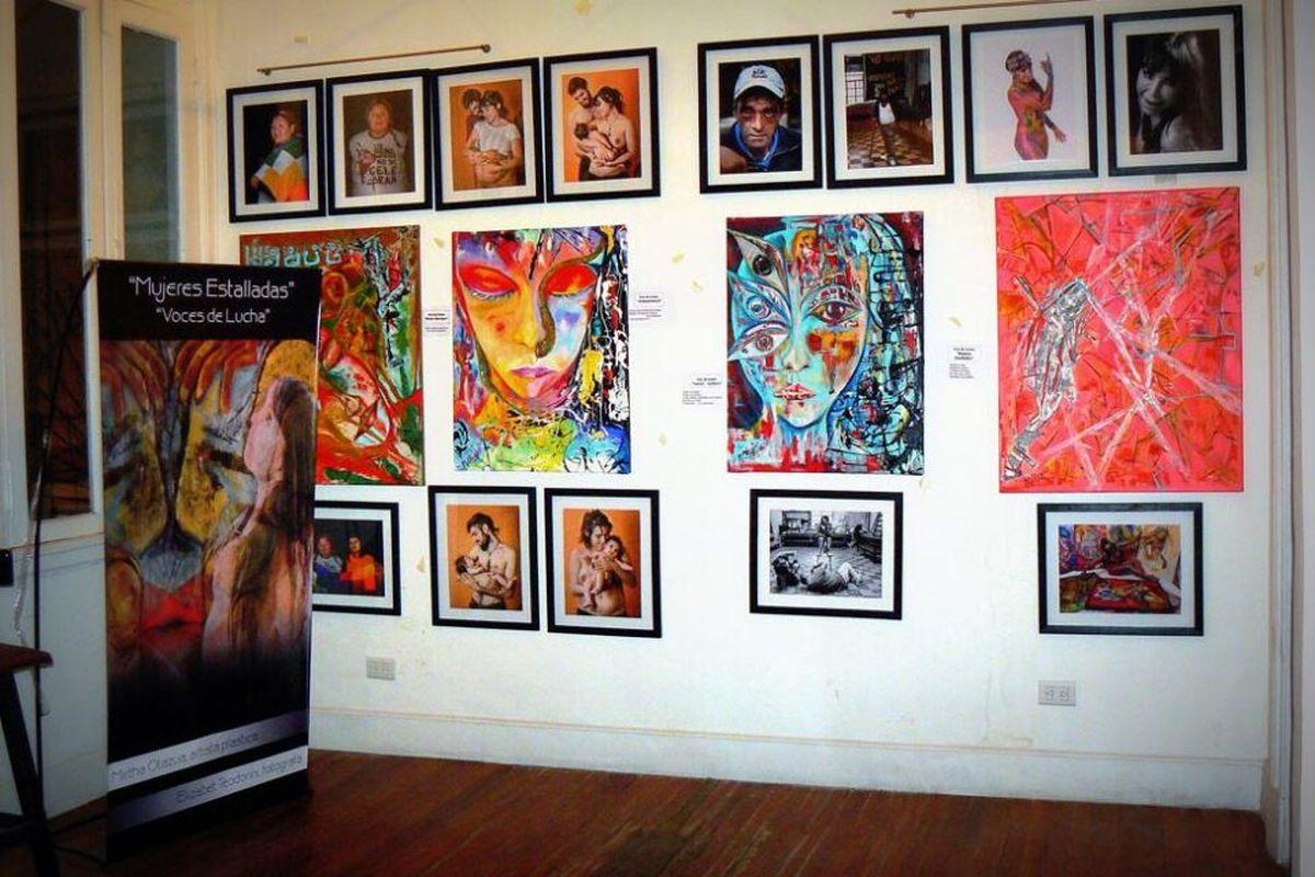 Inaugurarán una muestra plástica de Mirtha Otazúa en la galería de arte de Ituzaingo