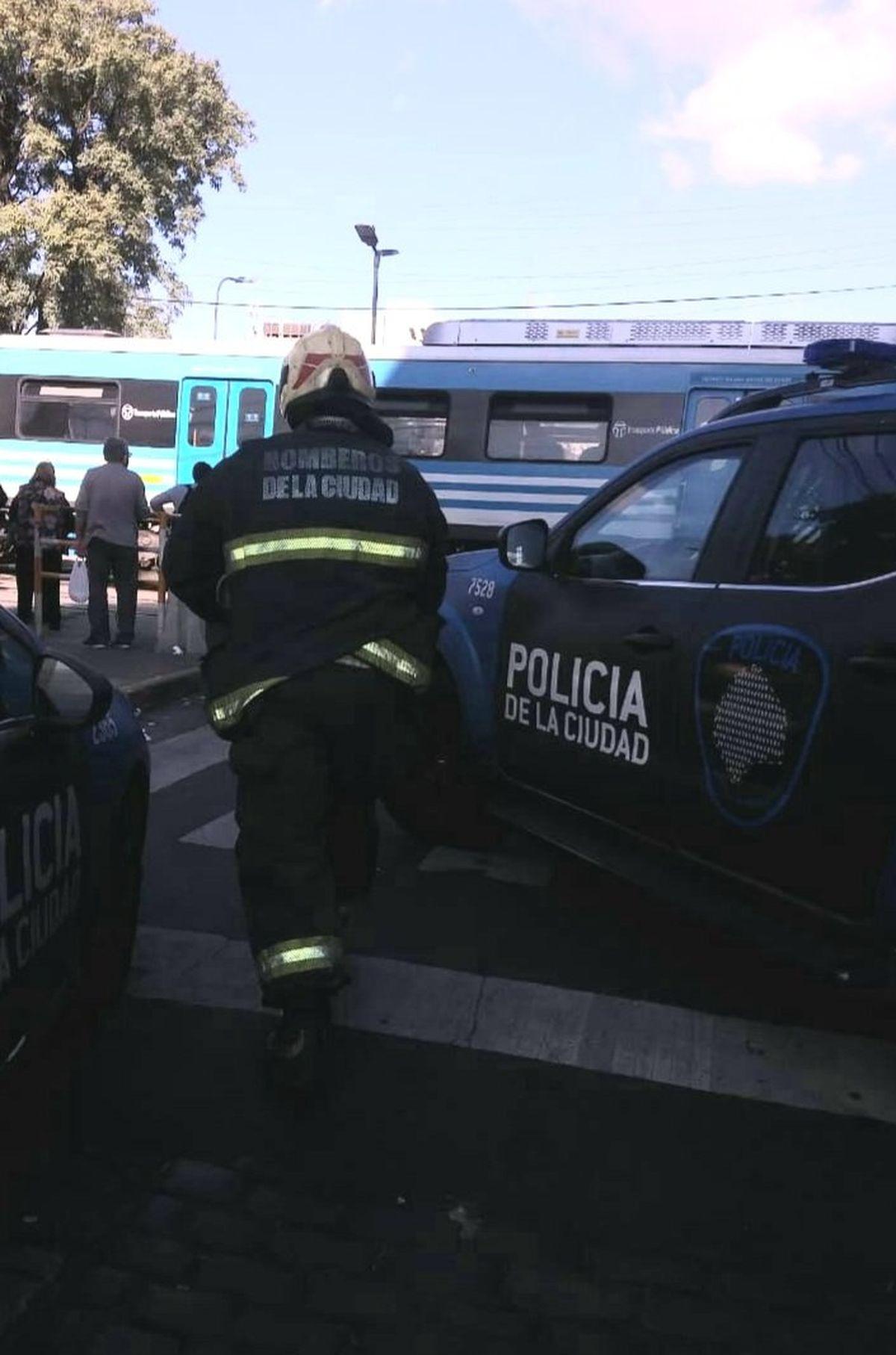 El Tren Sarmiento arrolló a una persona en Liniers.