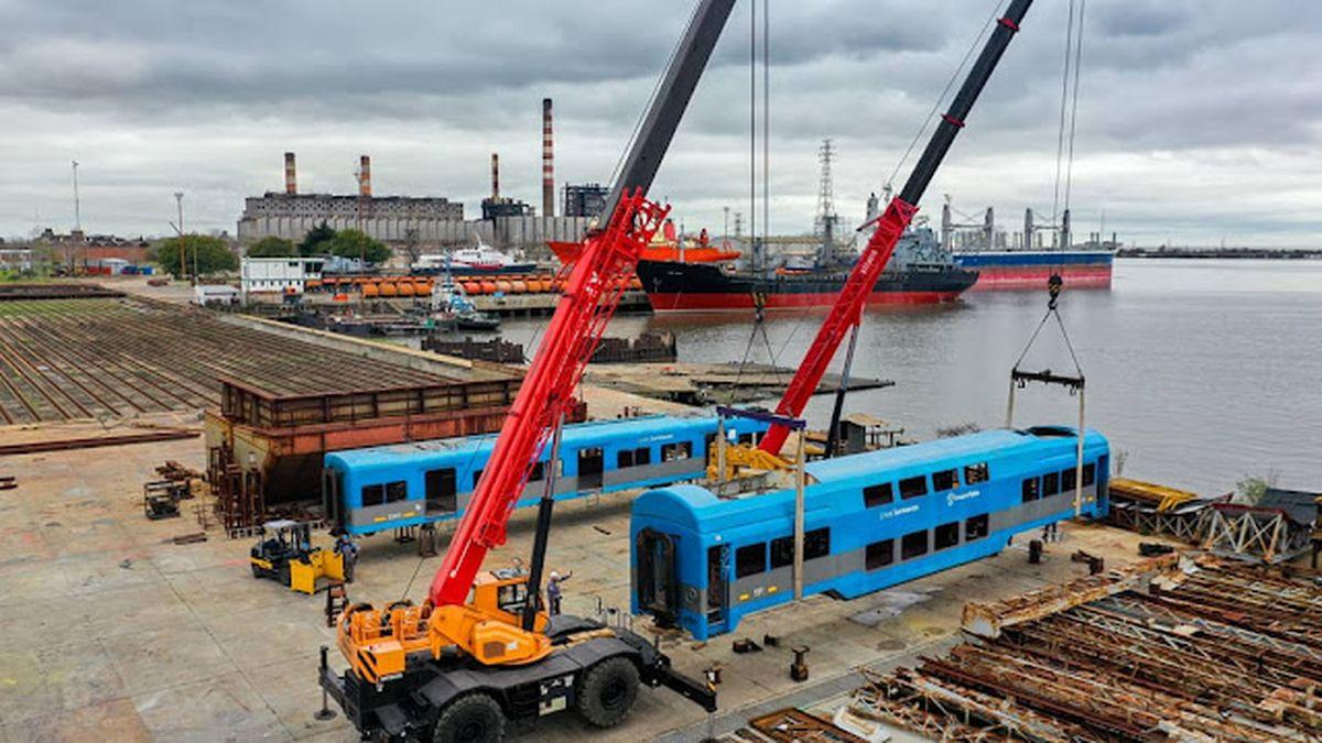 Trenes: ya se esta trabajando sobre los coches doble piso