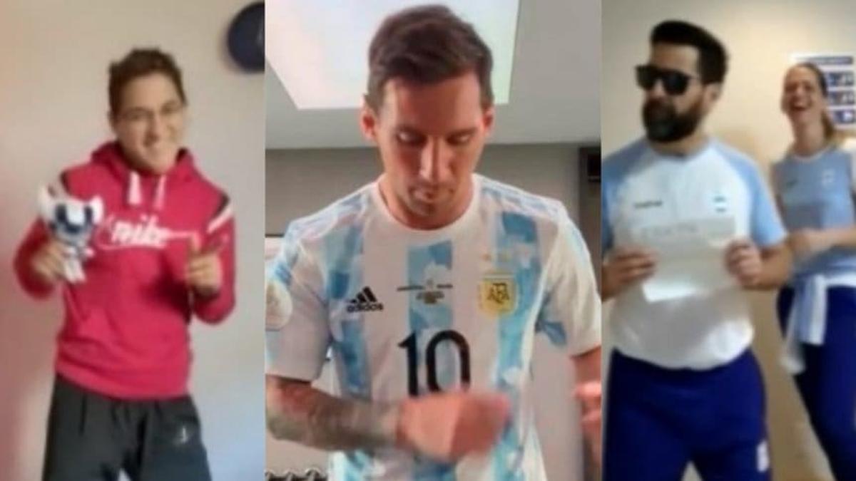 Juegos Olímpicos: Messi apoyó a los atletas argentinos