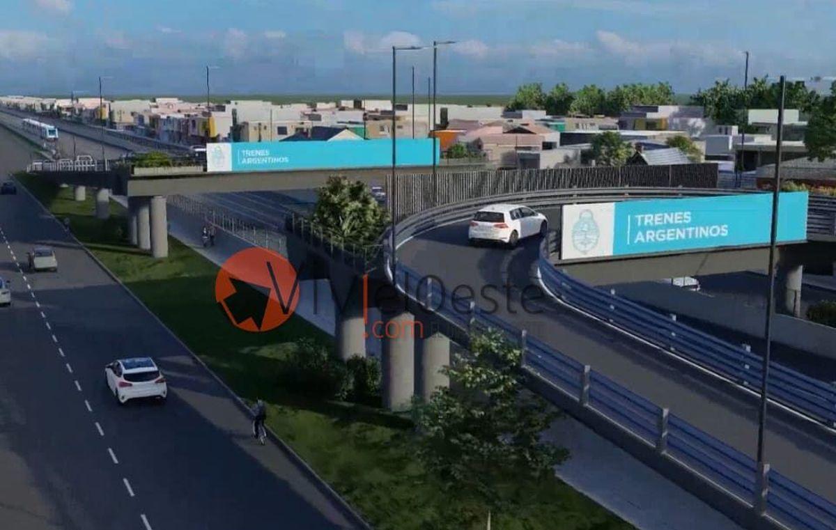 Comenzaron las obras de los puentes del Sarmiento en Ituzaingó