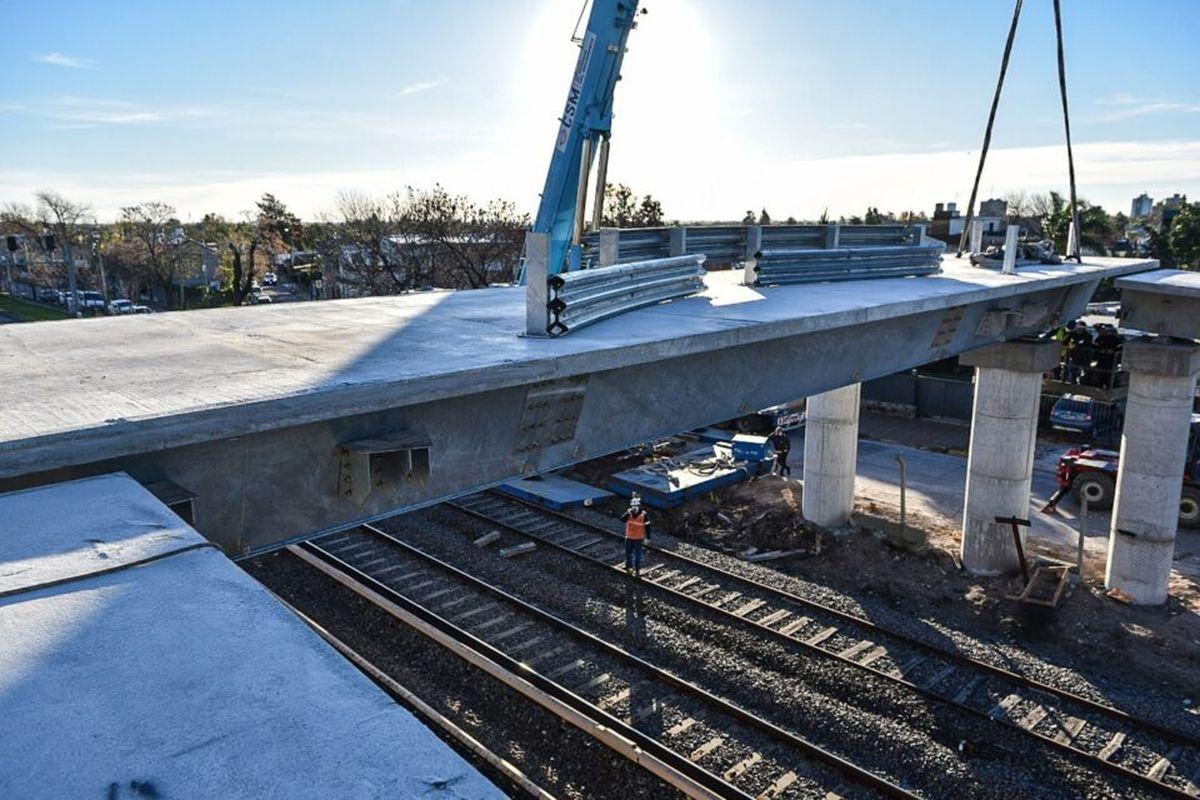 En Trenes Argentinos estiman que los 13 puentes modulares del Sarmiento se realizarán en menos de un año y medio